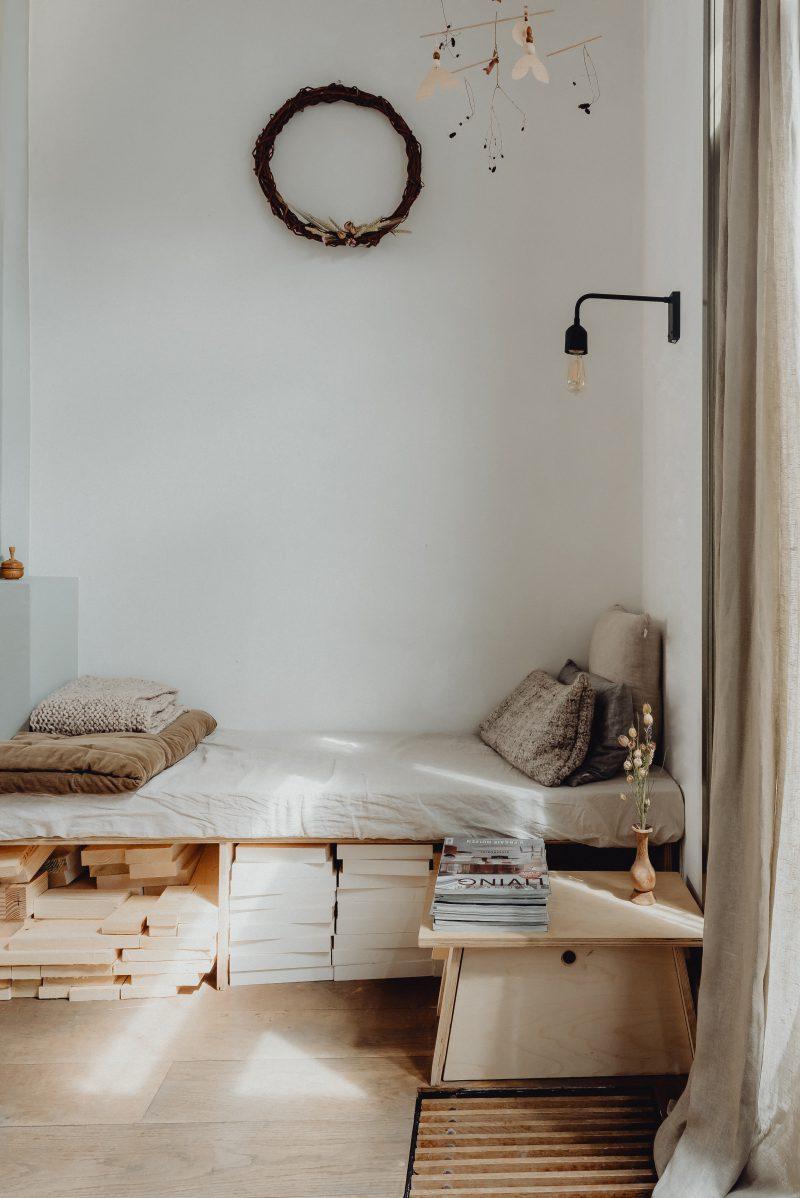 loungeplek in de woonkamer